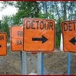 Avoiding Detours