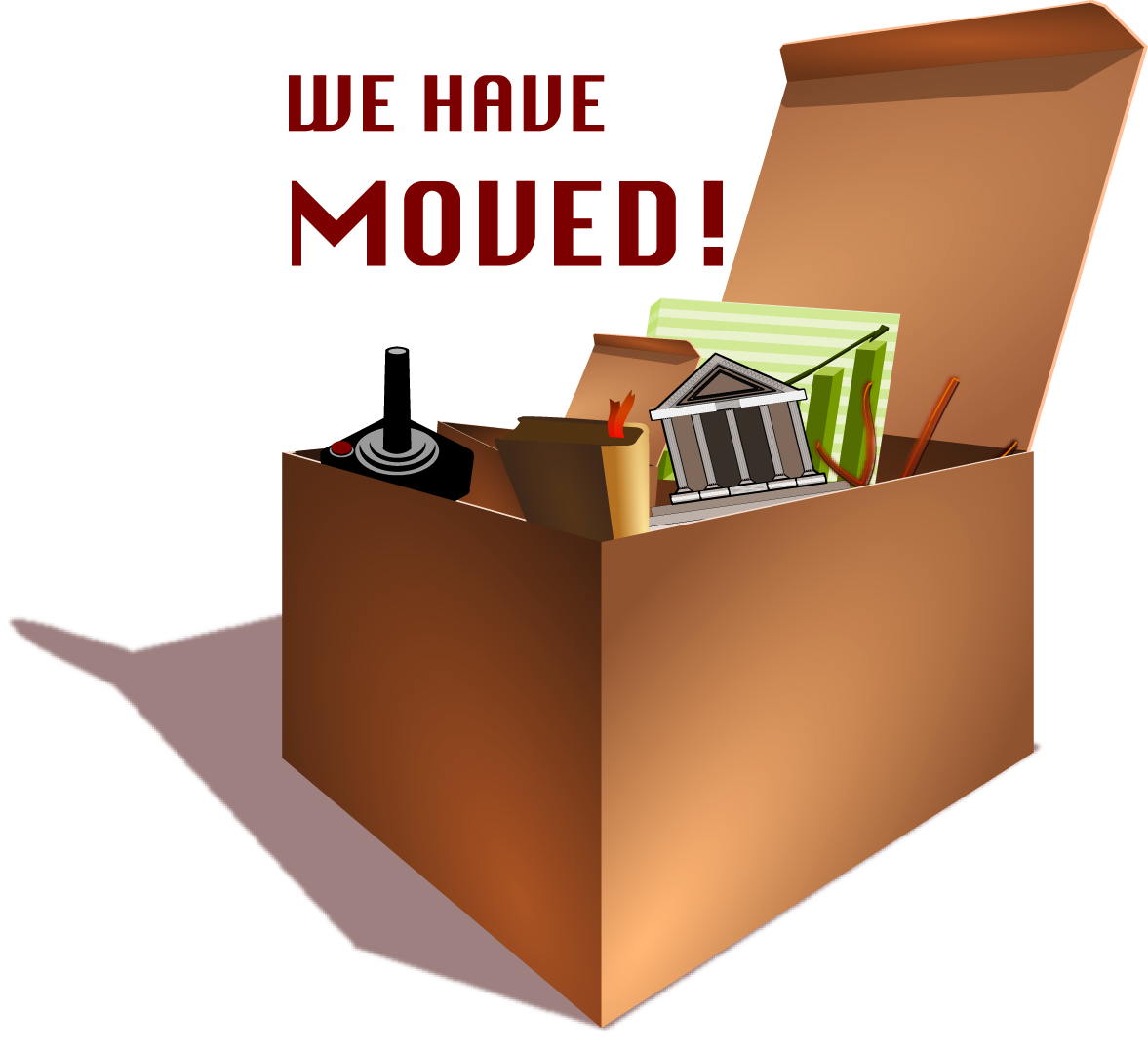 We've Moved!!!